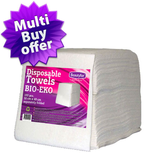 Disposable Towels BIO-EKO (50x40) Separately Folded (100)