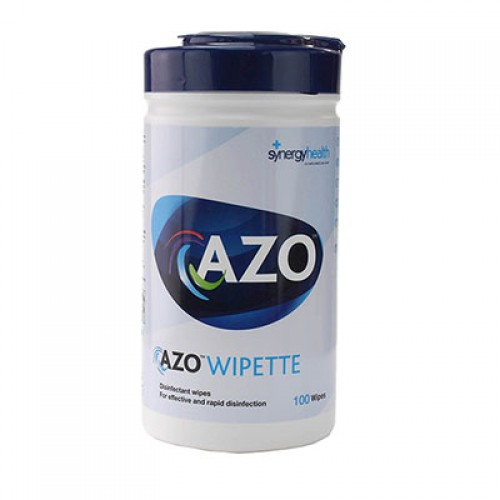 Azo Hard Surface Disinfectant Wipes, tube (150 pcs)