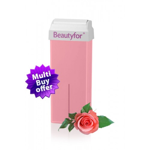 BeautyFor Pink Wax Titanium Dioxide,  Roll-on Cartridge 100 ml