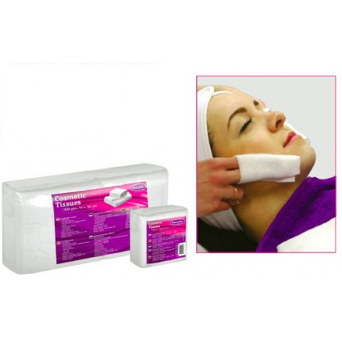 Soft Spunlace Cosmetic (30x30) Tissues (100)