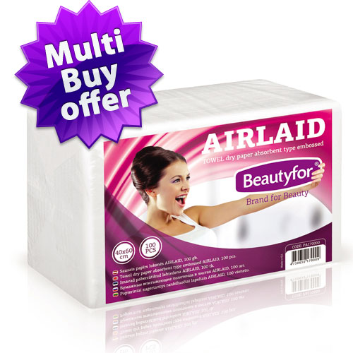Disposable Towels AIRLAID (40x70) Separately Folded (100)