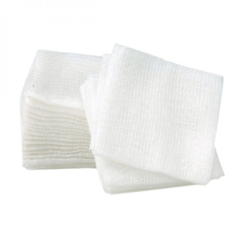 Gauze Cloth wipes (7.5 x 7.5 cm) pack of 100