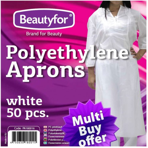 Disposable Premium Polyethylene Aprons (130x90) (50)