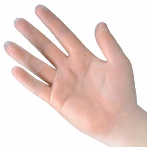 Clear Vinyl Powder-free Gloves (100)