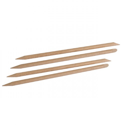 Wood Stick. 120mm Straight (Pack of 5)