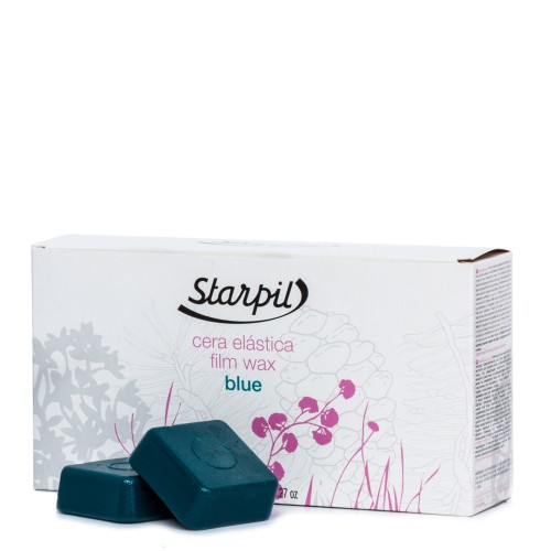 Stripless Blue Hard Film Wax Tablets Starpil (Polymer Blend) 1kg.