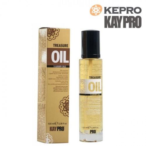 Kepro Treasure Oil 5 luxury oils 100ml